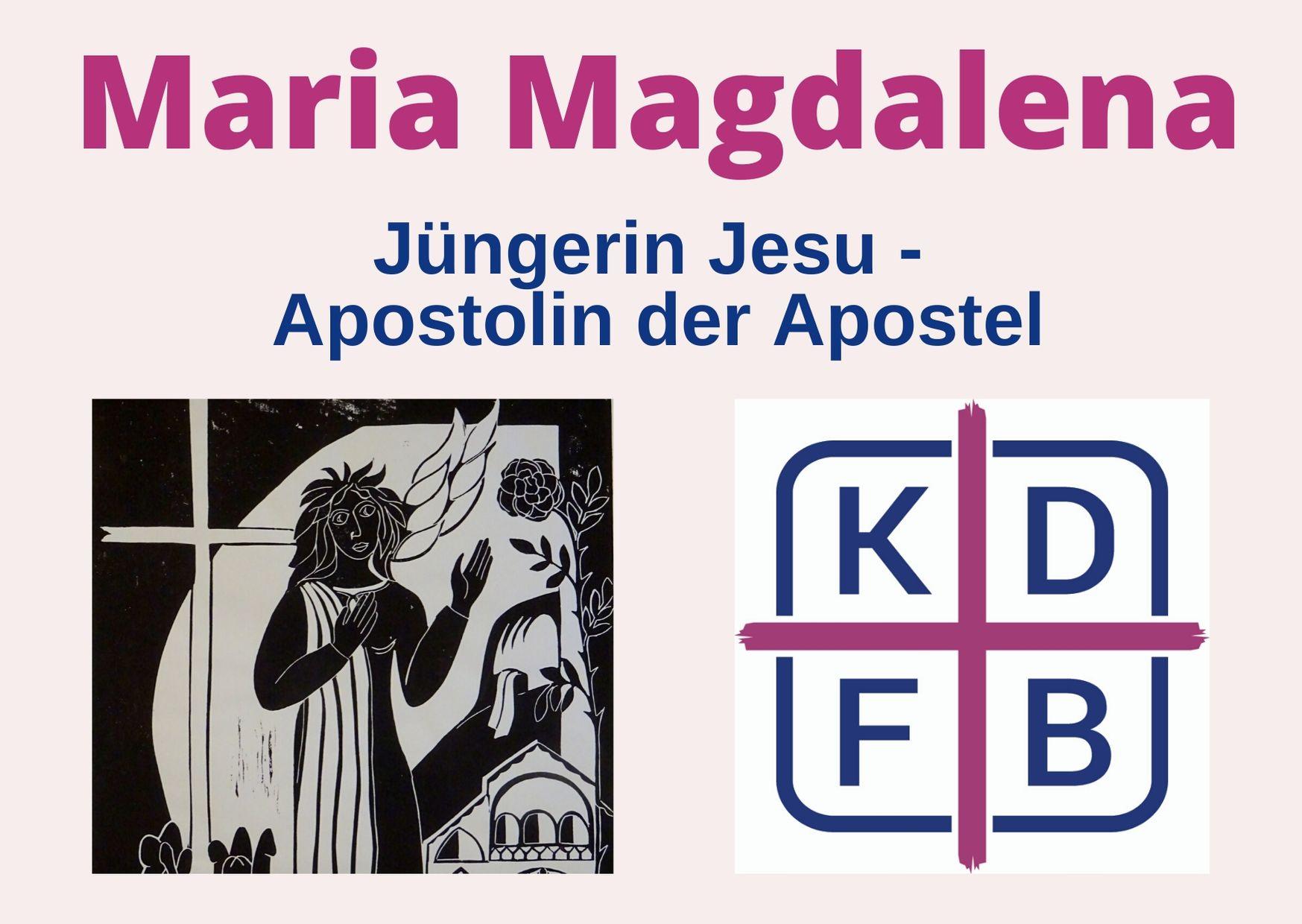 Maria Magdalena folgen heißt: Verantwortung übernehmen