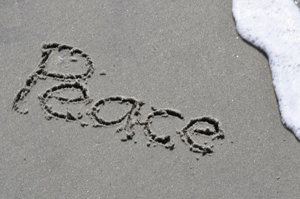Der Friede kommt nicht durch Gewalt