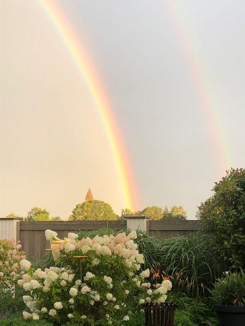 KDFB Spiritueller Impuls Ulrike Wellens doppelter Regenbogen