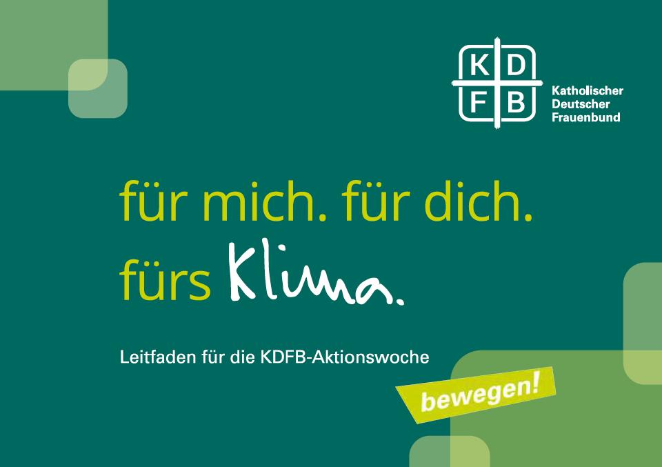 KDFB Titelbild Aktionsleitfaden Klima