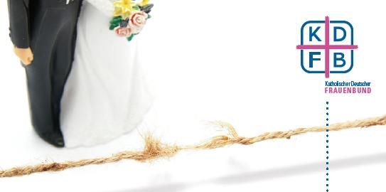 KDFB Broschüre Wiederverheiratet Geschiedene reißendes Seil