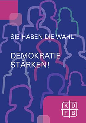 KDFB Falt-Flyer Bundestagswahl 2021
