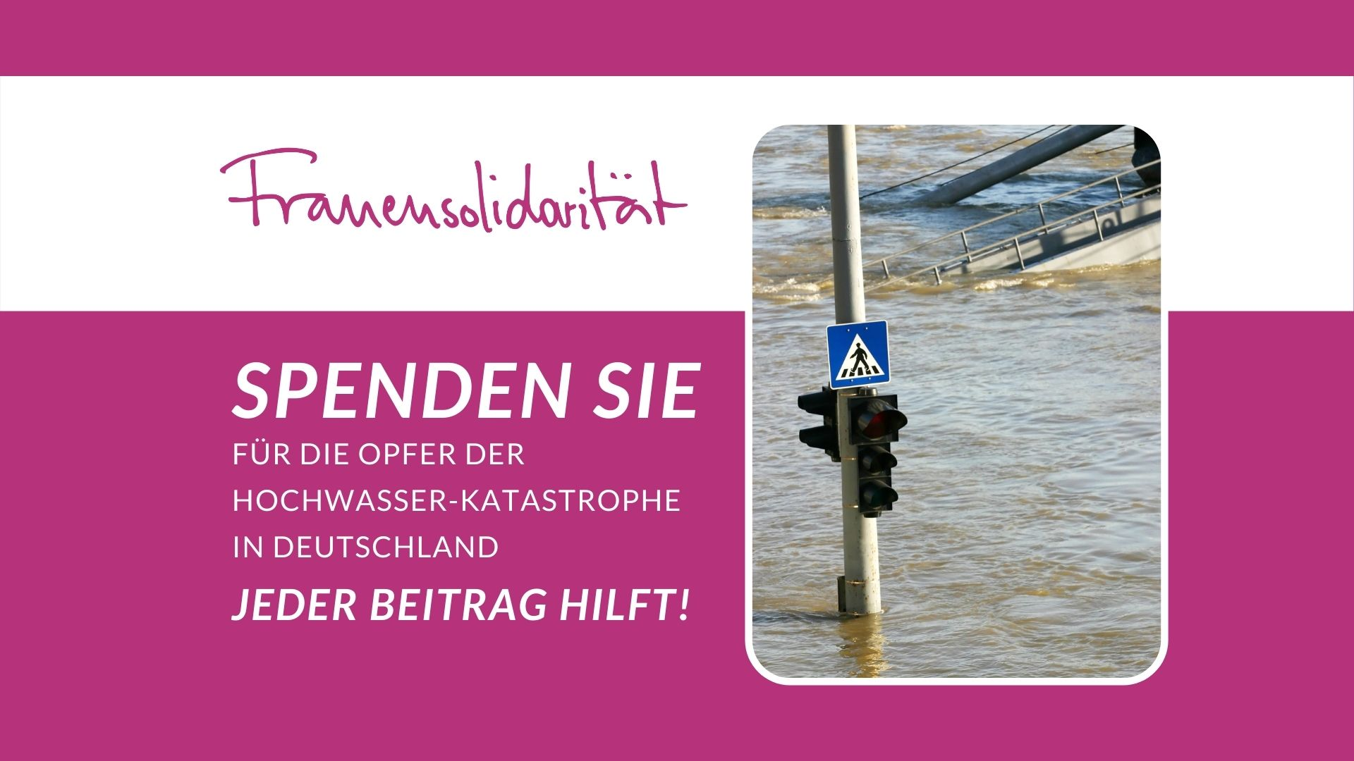 KDFB Spenden Sie Hochwasser-Katastrophe