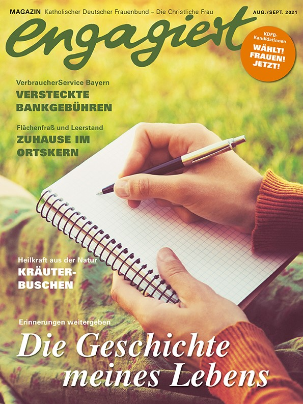 KDFB engagiert Cover 2021-04