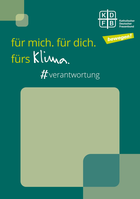KDFB Aktionswoche Klima Plakat
