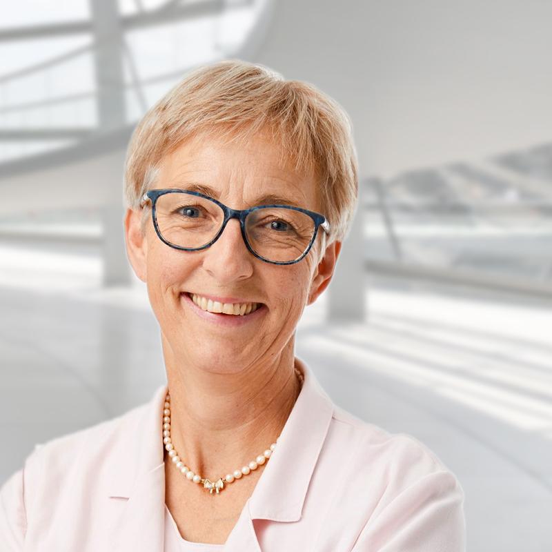 Sabine Slawik, Vizepräsidentin des KDFB
